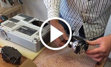 Video de reemplazo Panasonic